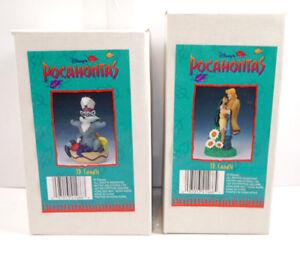 Disney-POCAHONTAS-3D-Kerze-Candle-Set-mit-John-Smith-amp-Meeko-NEU-KB-K3