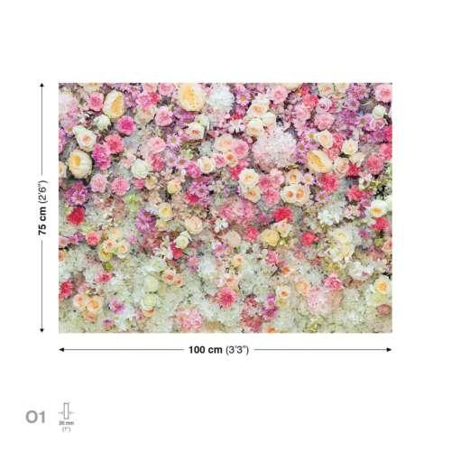 PP2431WS Blumen Bunt LEINWAND BILDER XXL BILD