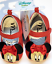 Disney Store Baby Girl Minnie Mouse Red Slippers Flat Costume Shoes 3-6 6-9 9-12
