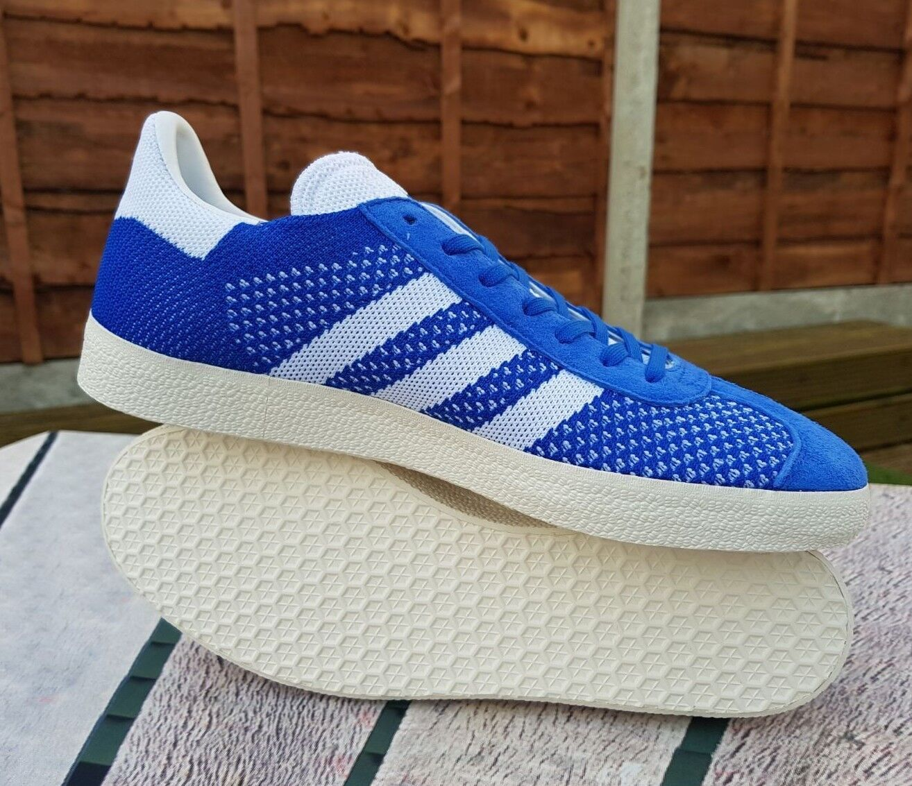 Latest Adidas Original Gazelle Men's Trainers (Variable Sizes)Blue Brand New Box