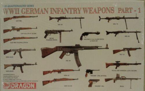 Quartermaster Series Dragon 1//35 3809 WWII German Infantry Weapons Part.1