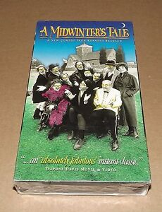 A-Midwinters-Tale-VHS-1996-NEW-amp-FACTORY-SEALED-Kenneth-Branagh