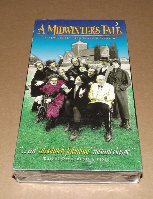 A Midwinters Tale (VHS, 1996) NEW & FACTORY SEALED Kenneth Branagh