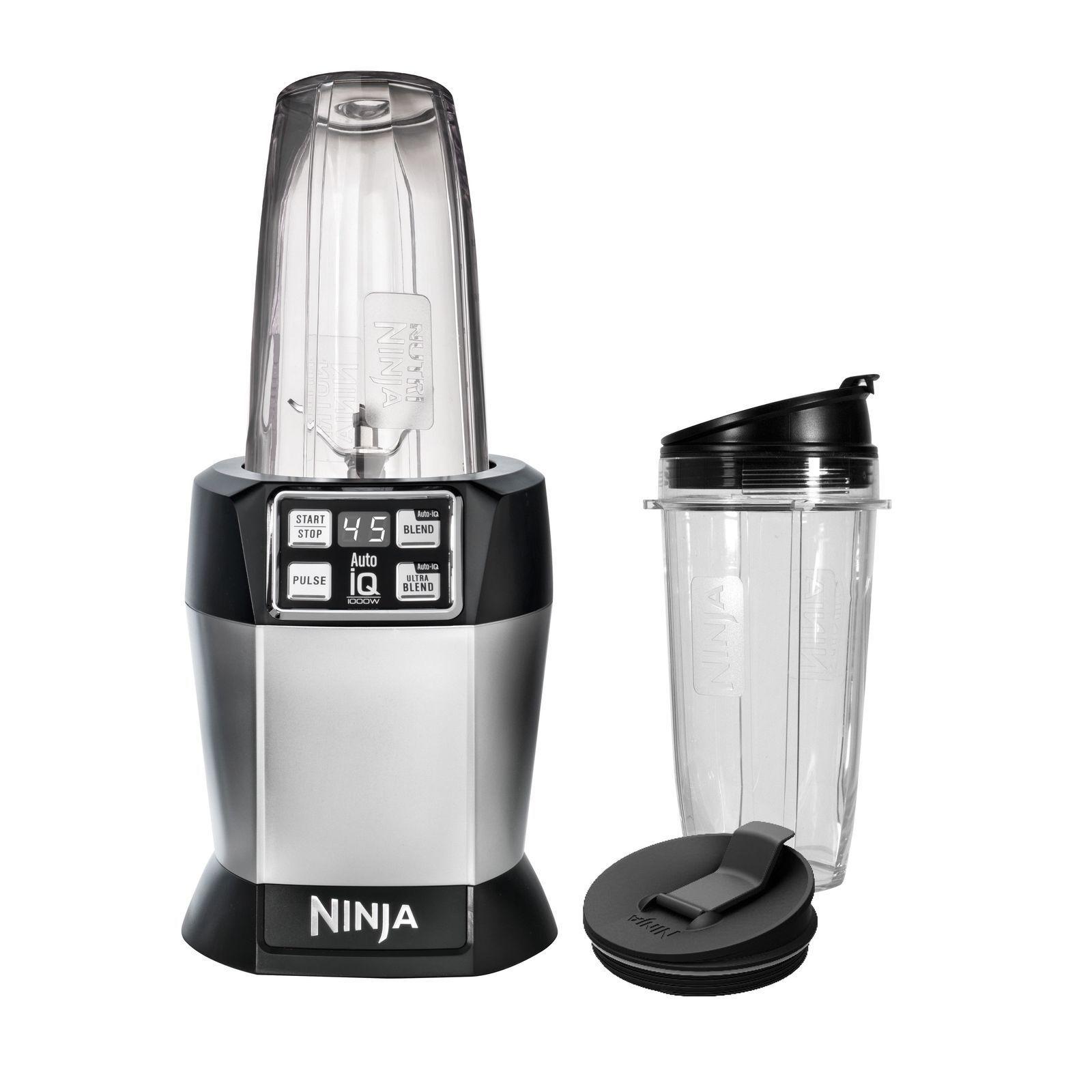 Ninja BL480D Nutri Ninja Auto IQ haute vitesse simple servir Blender rénové