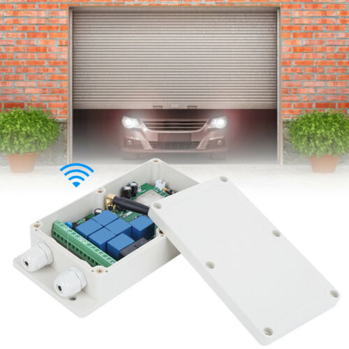 4G 3G GSM 7-Channel Wireless Relay Switch Gate Opener Remote Control Door Access