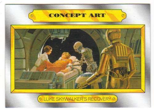2015 Star Wars Journey To The Force Awakens Concept Art CA-5 Luke/'s Recovery