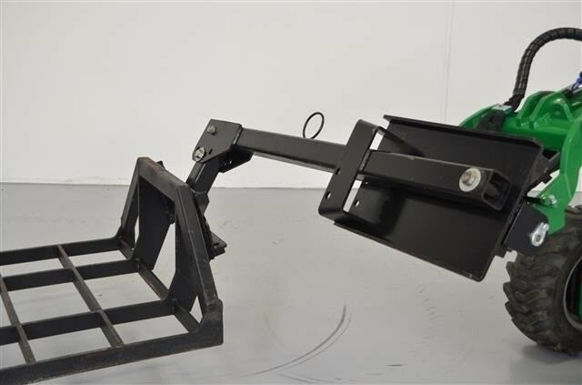 Minilæsser, Avant / Staldkat Sidemontering for redskab