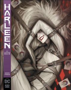 Harleen #3 Harley Quinn Stjepan Sejic Black Label DC Comic 1st Print 2019 NM