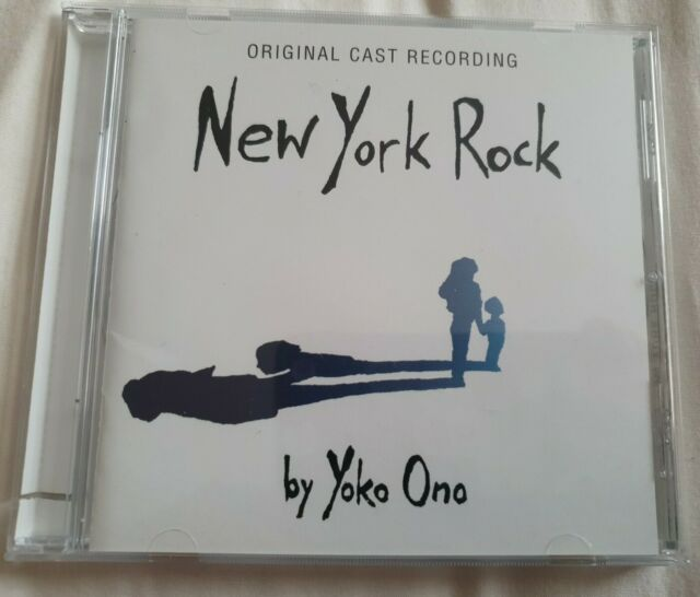 New York Rock CD Album Yoko Ono Original Cast Recording  John Lennon Beatles