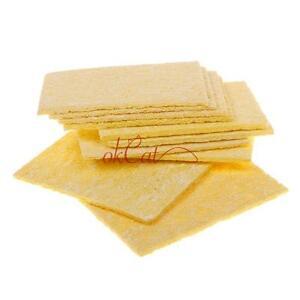 10pcs-Soldering-Iron-Replacement-Sponges-Solder-Iron-Tip-Welding-Clean-Pads-OFUK