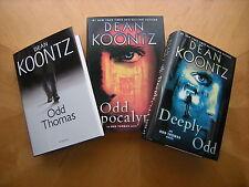 Dean Koontz''s Odd Thomas Series: Books 1, 5, & 6...3 NEW Large Print Hardcovers