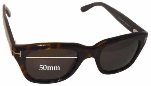 Effets spéciaux de remplacement Lunettes de soleil lentilles pour Tom Ford TF237 Snowdon-Largeur 50 mm