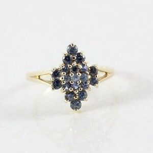 10k-Yellow-Gold-London-Blue-Topaz-Ring-Size-8