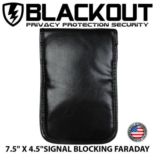 FARADAY CAGE EMP BAG RFID PRIVACY 3 PIECE COMBO