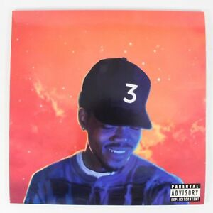 Chance-The-Rapper-Coloring-Book-2LP-Limited-Edition-Red-Color-Wax-Vinyl
