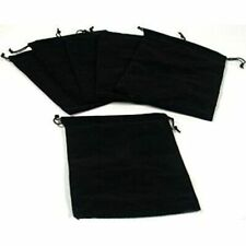 6 Pouches Black Velvet Drawstring Jewelry Bags 5 Boxes Home Ampamp Kitchen