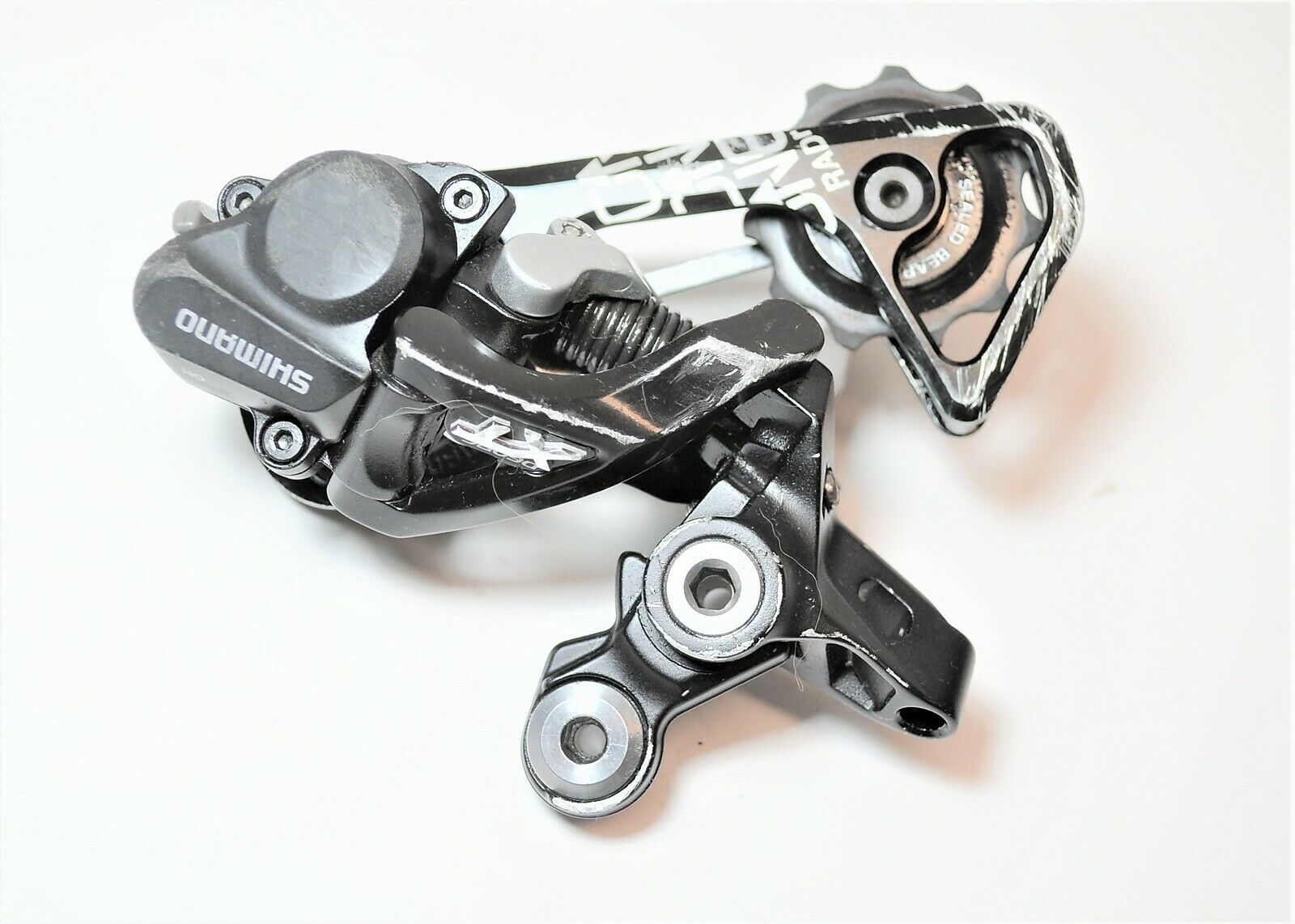 SHIMANO DEORE XT DYNA SYS BICYCLE 10 SPD GS MEDIUM CAGE REAR DERAILLEUR RD-M786