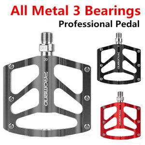 PROMEND Aluminum Alloy Bicycle Pedal Road Bike MTB Ultralight CR-MO 3 Bearings