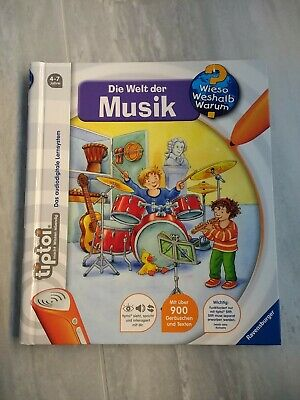 Tiptoi Die Welt der Musik Ravensburger Spaß Spiele für ...