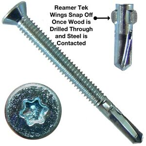 Reamer Wood Tek Screws Wood To Metal Fastening Reamer
