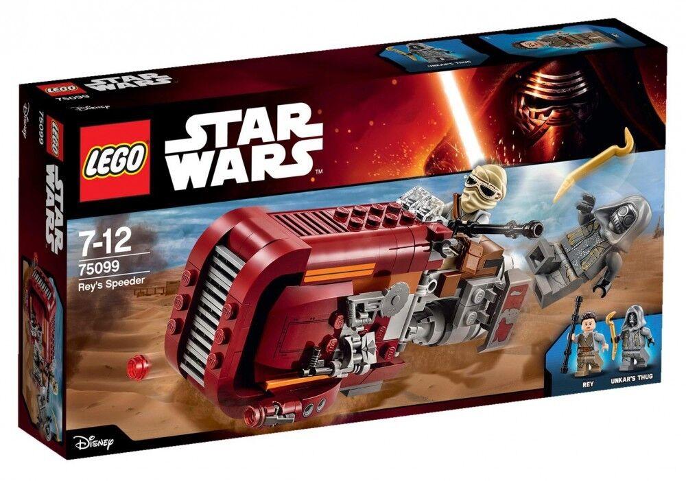 Lego Star Wars - - - 75099 - Rey's Speeder - NEUF et Scellé 86a279