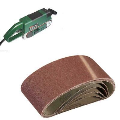 5 x Sanding Belts 60 mm x 400 mm For Bosch PBS60 PBS60E