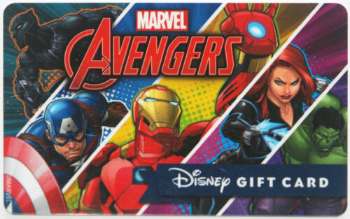 Guardians of the Galaxy and Spiderman 2016 Sold Out 2 Disney Marvel Gift Cards