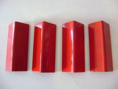 pkg. of 4 Lionel 97 Metal Red Painted Coal Loader Roof
