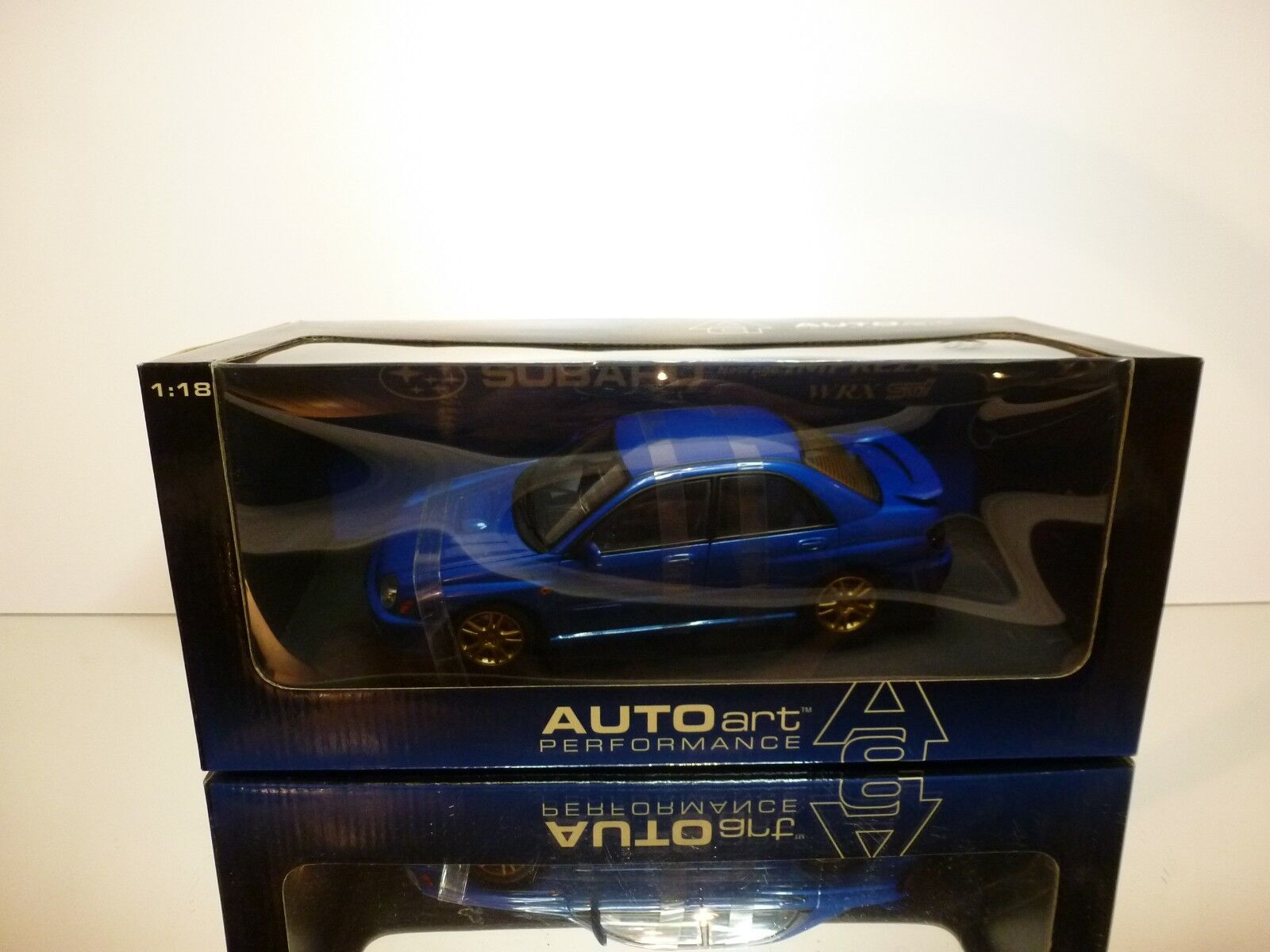 AUTOART 78642 SUBARU NEW AGE IMPREZA WRX STI RHD - 1 18 RARE - EXCELLENT IN BOX
