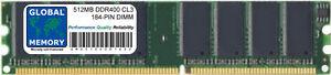 512MB-DDR-400Mhz-PC3200-184-BROCHES-MEMOIRE-DIMM-RAM-pour-iMac-G5-amp-POWERMAC-G5
