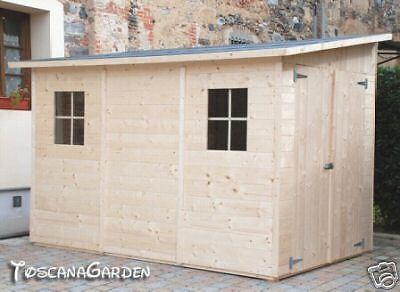 Box casetta in di legno 320x215 porta doppia casette ebay for Casette in legno usate ebay