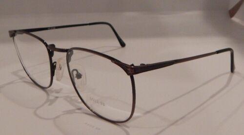 Bronze 54//21 Metal Eyeglass Frame New//Old Stock #246 Vintage Deja Vu DV-822 Ant