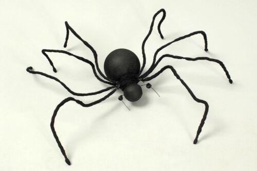 Riesen Kugelspinne schwarz 35 cm sehr markant Deko Halloween