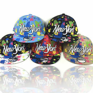 Kinder Cap NEW YORK - NEON POP Snapback Baseball Caps Basecap Kappe ... da3716e011