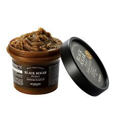 SKINFOOD Black Sugar Perfect Essential Scrub 2X 210g [5 in 1] Korean Cosmetics