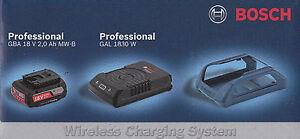 Bosch-Set-WIRELESS-batteria-18V-2-Ah-CARICABATTERIE-WIRELESS-GAL-1830-W-boch