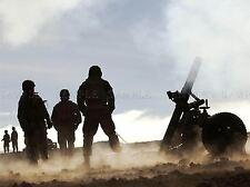 Guerra Ejercito Soldado Pistola Rifle Marino fuego de artillería Art Print bb3377a