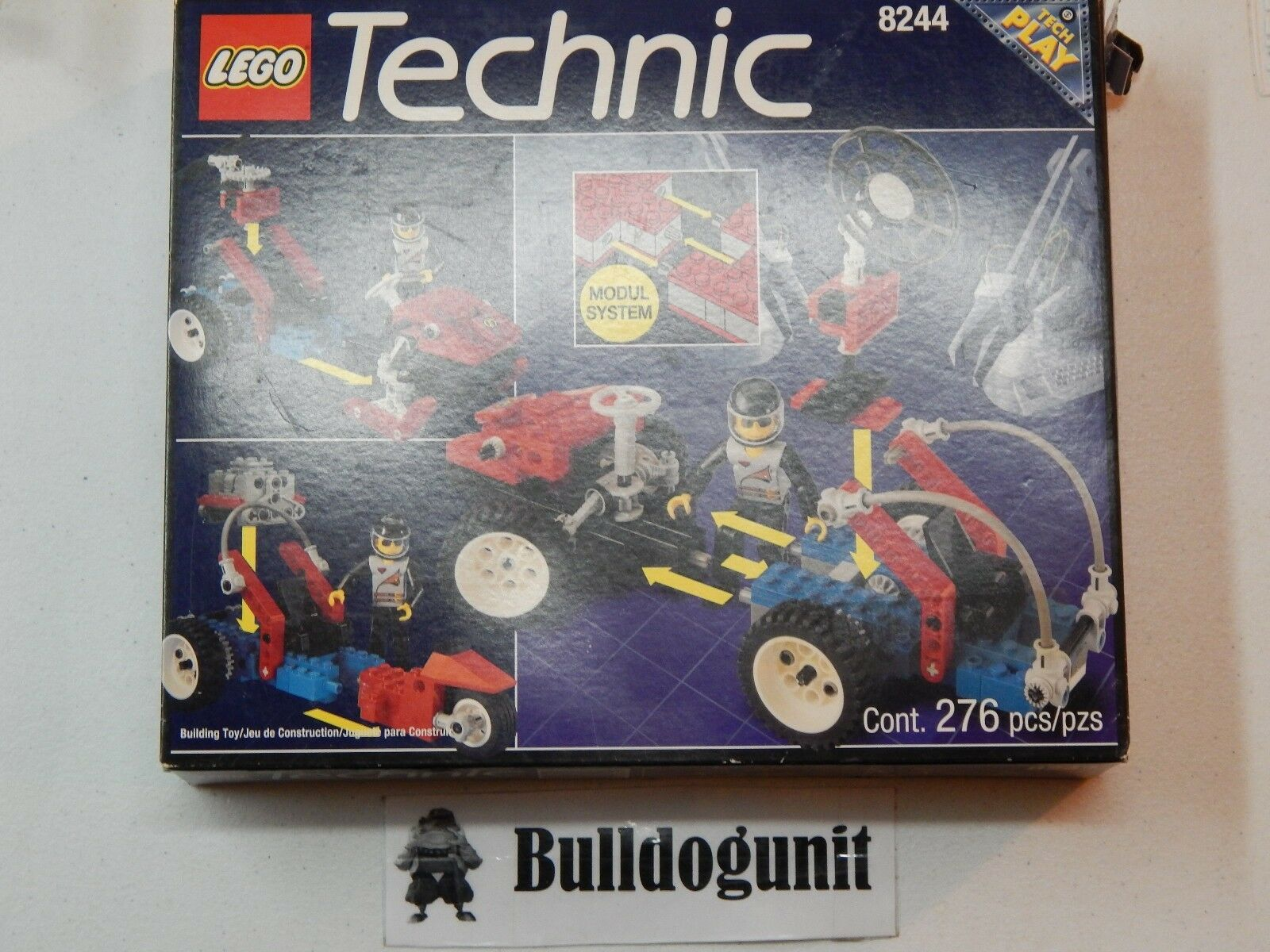 New Sealed Bag Open Box 8244 Technic Convertables Lego Set Complete Convertibles