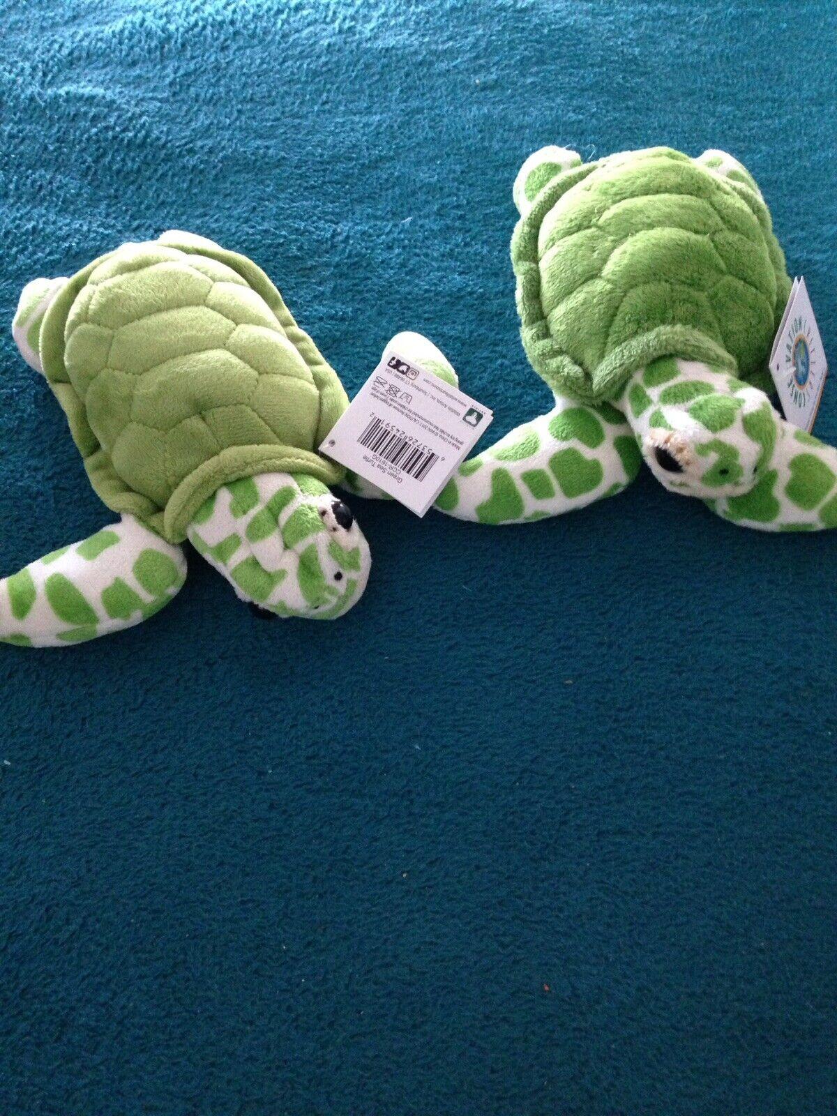 Uppsättning 2-supermjuka gosedjur med tillsats av sköldpaddor 9