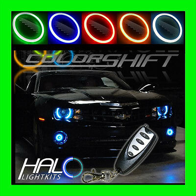 2010-2013 ORACLE CHEVY CAMARO RS COLORSHIFT LED LIGHT HEADLIGHT HALO KIT