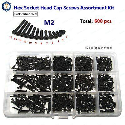 600 pcs. Socket Cap Screw Assortment