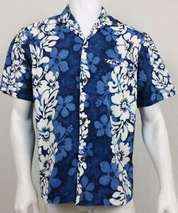 219386d4 Image is loading Royal-Creations-Mens-Shirt-Size-Large-Hawaiian-Floral-
