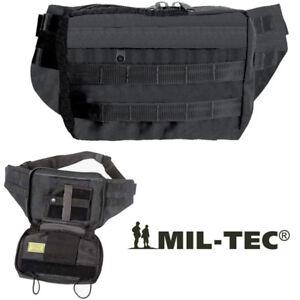 Marsupio Porta Pistola colore NERO Occultamento Arma con fondina interna MILTEC