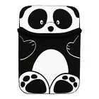 Black Panda Reversible Sleeve Case Cover for Barnes & Noble Nook Simple Touch