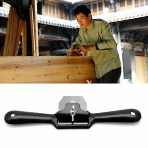 210mm-Spoke-Shave-2-Handed-Flat-Planer-Tool-For-Woodwork-Wood-Work-45mm-Blade