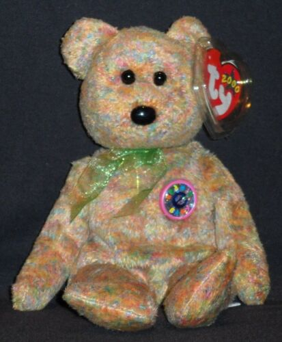 MINT with MINT TAGS TY SPECKLES the BEAR BEANIE BABY