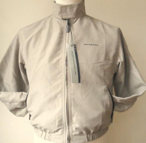 BEN SHERMAN Jacket Boys Youth Harrington Jacket Navy,Charcoal,Stone Sizes:S,M,XL