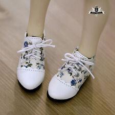 MSD Shoes 1/4 BJD Shoes Supper Dollfie Dollmore Luts AOD DOD MID DZ Floral Shoes