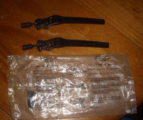 NOS Zefal Plastic Air Pump Clip Set Road Bike