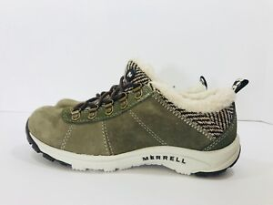 New  Merrell Kamori Chill Women s Size 5.5 Shoes with Faux Fur ... 2291a1feb04c0
